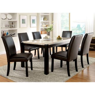 Marble Dining Room Sets For Less | Overstock.com