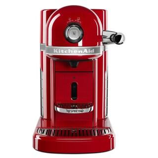 Nespresso by KitchenAid KES0503ER Empire Red Metal Espresso Machine