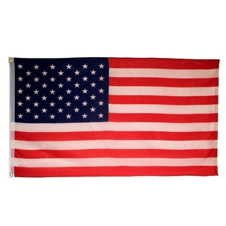 United States Red White Blue Polyester Flag