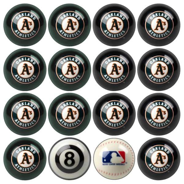 Shop MLB Teams Licensed Baseball Billiard Balls Complete Set of 16