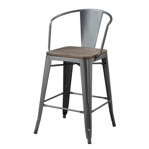 Tremendous Shop Furniture Of America Tripton Industrial Counter Height Beatyapartments Chair Design Images Beatyapartmentscom