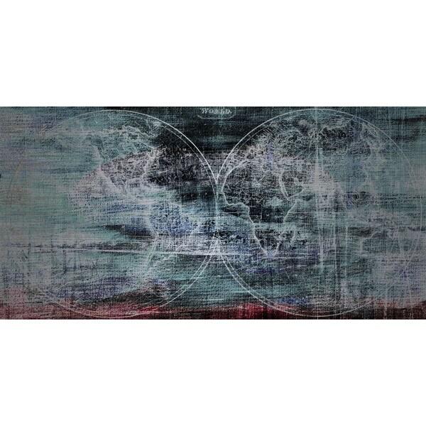 Marmont Hill 'Dark Hemispheres' Aluminum Art