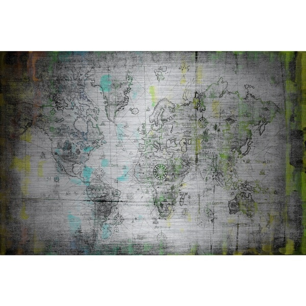 Marmont Hill 'Voyage Into Darkness' Aluminum Art