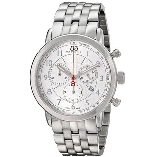 88 Rue du Rhone Men's 87WA120044 'Double 8 Origin' Chronograph Swiss Quartz Stainless Steel Watch
