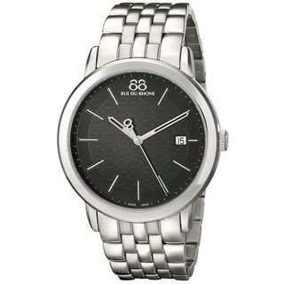 88 Rue du Rhone Men's 87WA140030 'Double 8 Origin' Swiss Quartz Stainless Steel Watch