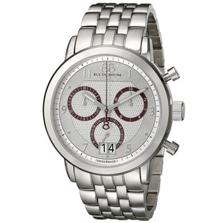 88 Rue du Rhone Men's 87WA130036 'Double 8 Origin' Chronograph Swiss Quartz Stainless Steel Watch