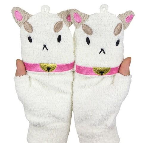 PuppyCat Fleece Mittens
