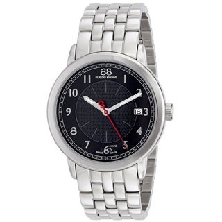 88 Rue du Rhone Men's 87WA120028 'Double 8 Origin' Swiss Quartz Stainless Steel Watch