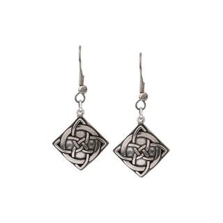 Sterling Silver Celtic Vision Knot Earrings