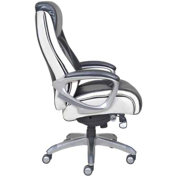 serta big and tall smart layers tranquility executive office chair with air technology. serta smart layers executive office chair - free shipping today overstock.com 17142261 big and tall tranquility with air technology