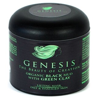 Genesis Organic 4-ounce Black Mud with Green Clay
