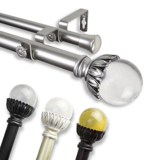 Cassava Adjustable Double Curtain Rod
