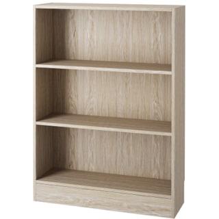 Element Short Wide 3-shelf Bookcase