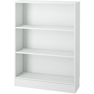 Porch & Den Kern Alethea Short Wide 3-shelf Bookcase (3 options available)
