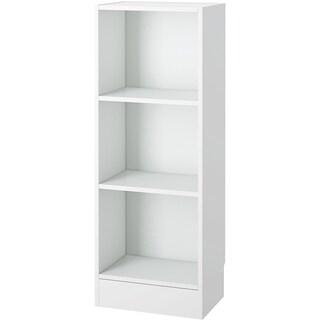 Element Short Narrow 3-shelf Bookcase