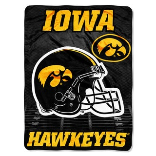Iowa Overtime Micro Fleece Throw Blanket