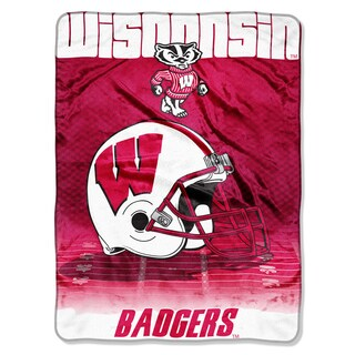 Wisconsin Overtime Micro Fleece Throw Blanket