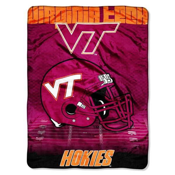 Virginia Tech Overtime Micro Fleece Throw Blanket