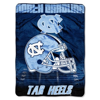 UNC Overtime Micro Fleece Throw Blanket
