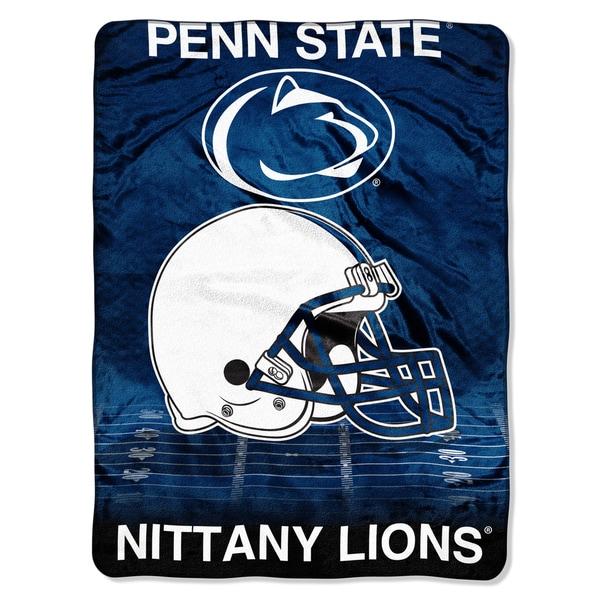 Penn State Overtime Micro Fleece Throw Blanket