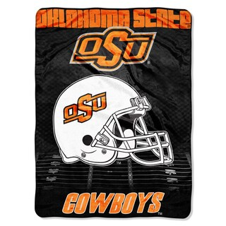 Oklahoma State Overtime Micro Fleece Throw Blanket