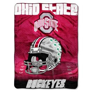 Ohio State Overtime Micro Fleece Throw Blanket
