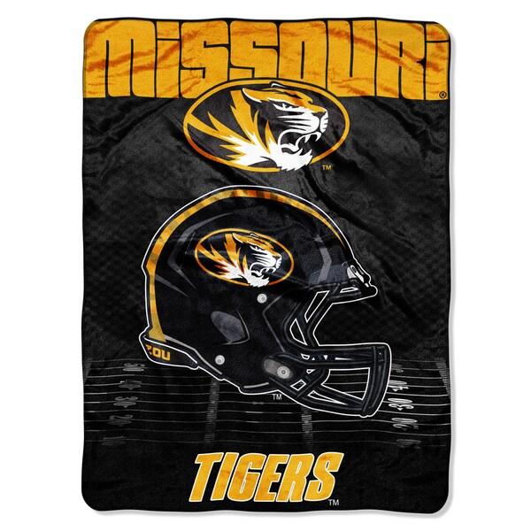 Missouri Overtime Micro Fleece Throw Blanket