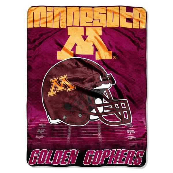 Minnesota Overtime Micro Fleece Throw Blanket