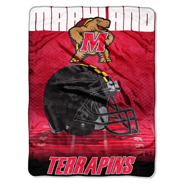 Maryland Overtime Micro Fleece Throw Blanket