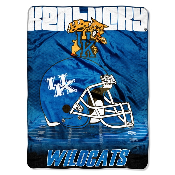 Kentucky Overtime Micro Fleece Throw Blanket