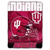 Indiana Overtime Micro Fleece Throw Blanket