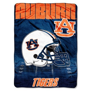 Auburn Overtime Micro Fleece Throw Blanket