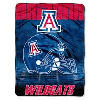 Arizona Overtime Micro Fleece Throw Blanket