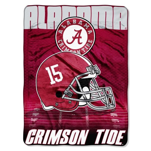 Alabama Overtime Micro Fleece Throw Blanket