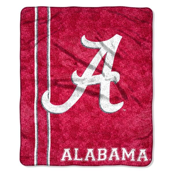 Alabama Sherpa Throw Blanket Throw Blanket