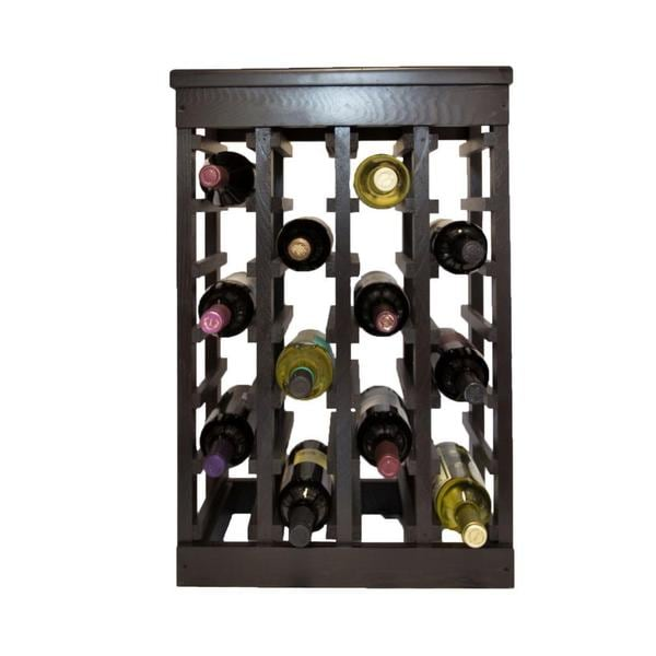 El Mar Furnishings 24 Bottle Clic Wood Wine Rack