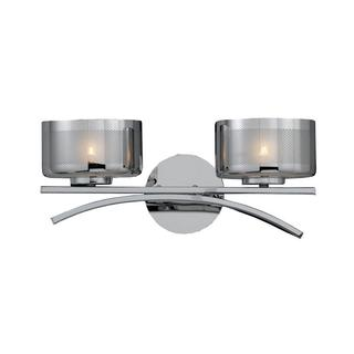 Lumenno Bodorlo Collection 2-light Chrome Vanity-light