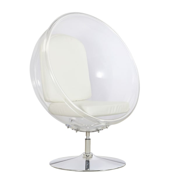 Shop Ball Acrylic Chair Free Shipping Today Overstock