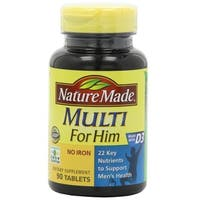 Nature Made Multi For Him Multivitamin (90 Tablets)