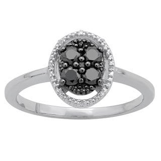Divina Sterling Silver 1/2ct TDW Diamond Fashion Ring (H-I, I2-I3)