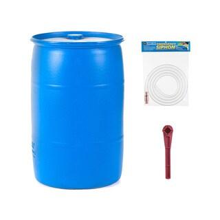 Emergency Essentials 30 Gallon Water Barrel Combo