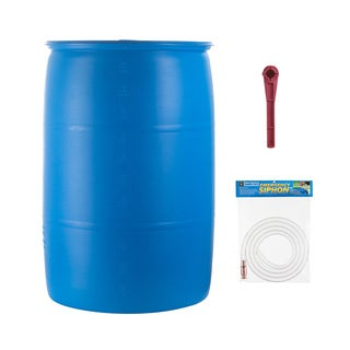 Emergency Essentials 55 Gallon Water Barrel Combo