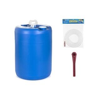 Emergency Essentials 15-gallon Water Barrel Combo