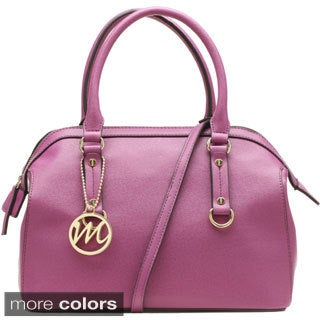 Emilie M Brooke Satchel w/Detachable Shoulder Strap
