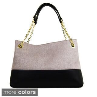 Emilie M Roxanne Chain Shoulder Bag