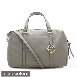 Emilie M Leigh Duffle Satchel w/Detachable Shoulder Strap