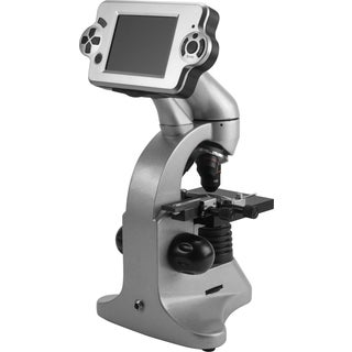 40x, 100x, 400x, 4MP Digital Microscope with Screen and Eyepiece