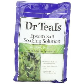 Dr. Teal's Relax and Relief Eucalyptus and Spearmint Pure Epsom Salt