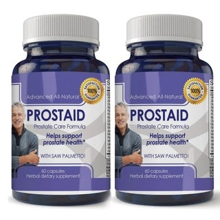 Advanced Extra Strength Prostate Support with Saw Palmetto Capsules (Pack of 120)