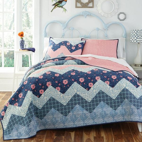 KD Spain Camilla 3-piece Cotton Quilt Set